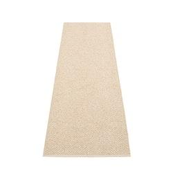 Pappelina matta Svea beige · champagne metallic 70x240 cm