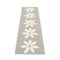 Pappelina matta Lilo warm grey · vanilla 70x250 cm