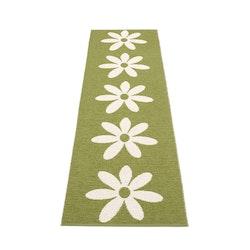 Pappelina matta Lilo olive · vanilla 70x250 cm