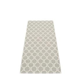 Pappelina matta Ants Warm Grey · Vanilla 70x180 cm