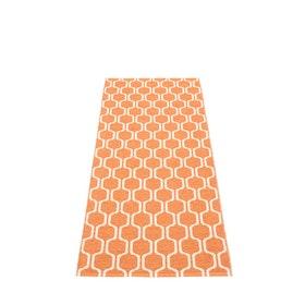 Pappelina matta Ants Pale Orange · Vanilla 70x180 cm