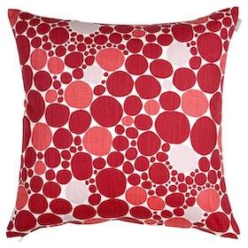 Spira Bubbla kuddfodral röd