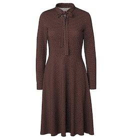 Jumperfabriken Elvy Dot dress brown