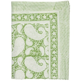 Chamois Big Paisley duk 150x230 cm light green