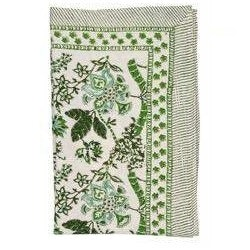 Chamois Floral duk 150x230 cm green