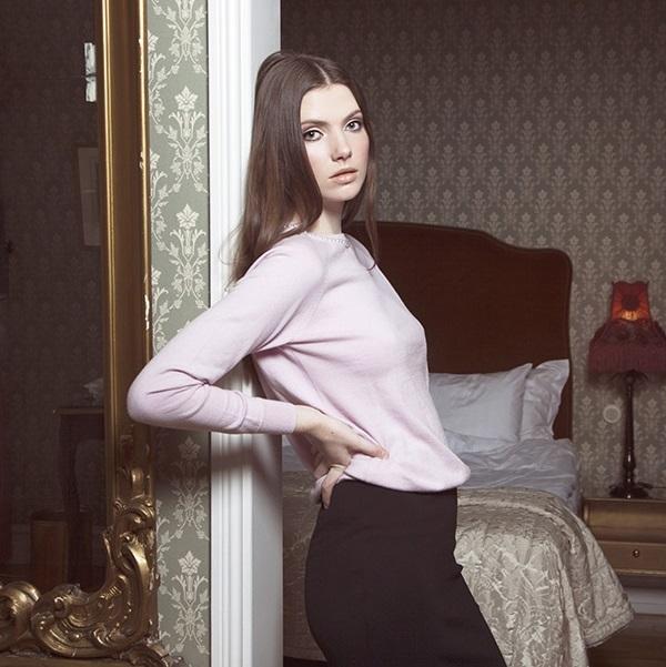 Jumperfabriken Eleonora Pearl jumper pink