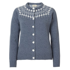 Jumperfabriken Gunilla cardigan grey