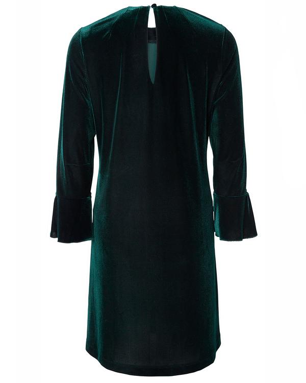 Jumperfabriken Imogen velvet dress green