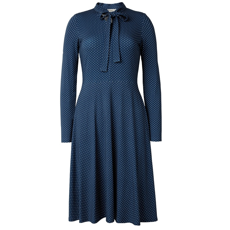 Jumperfabriken Elvy Dot dress blue