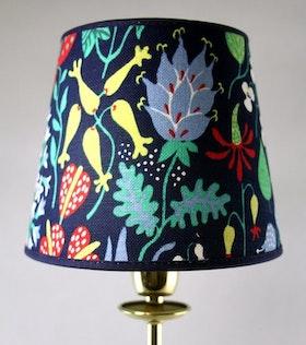 Stig Lindberg Herbarium lampskärm blå