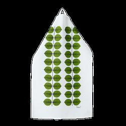 Stig Lindberg Berså kökshandduk liten grön