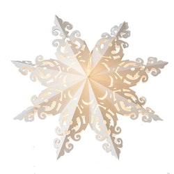 Snowflake julstjärna Hanna 60 vit