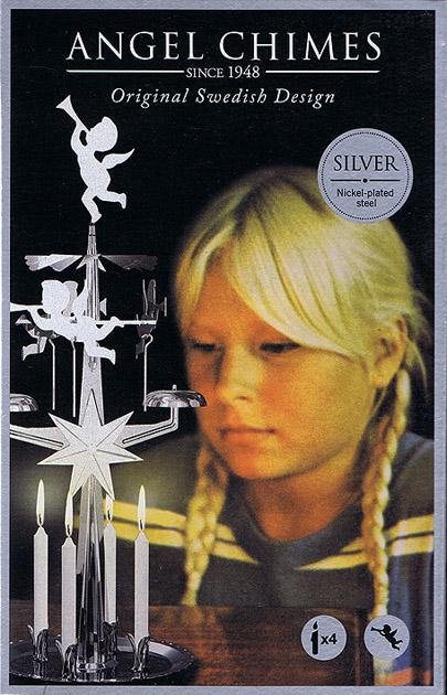 Änglaspel original silver
