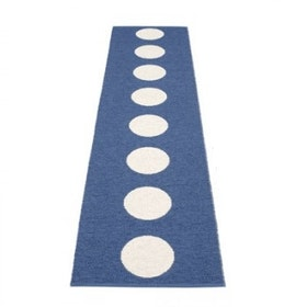 Pappelina matta Vera blue · vanilla 70x300 cm