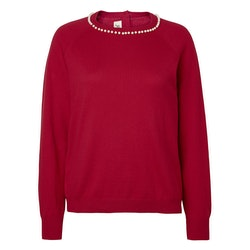 Jumperfabriken Eleonora Pearl jumper red
