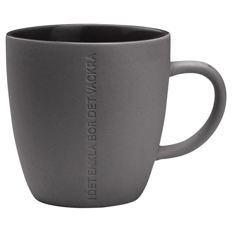 ERNST mugg mörkgrå