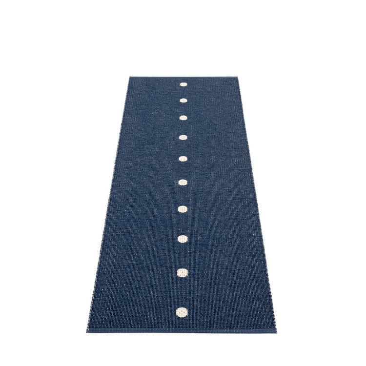 Pappelina matta Peg Dark blue · Vanilla
