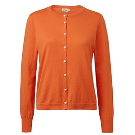 Jumperfabriken Cattis cardigan orange