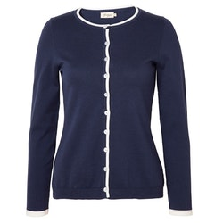 Jumperfabriken Doris cardigan navy