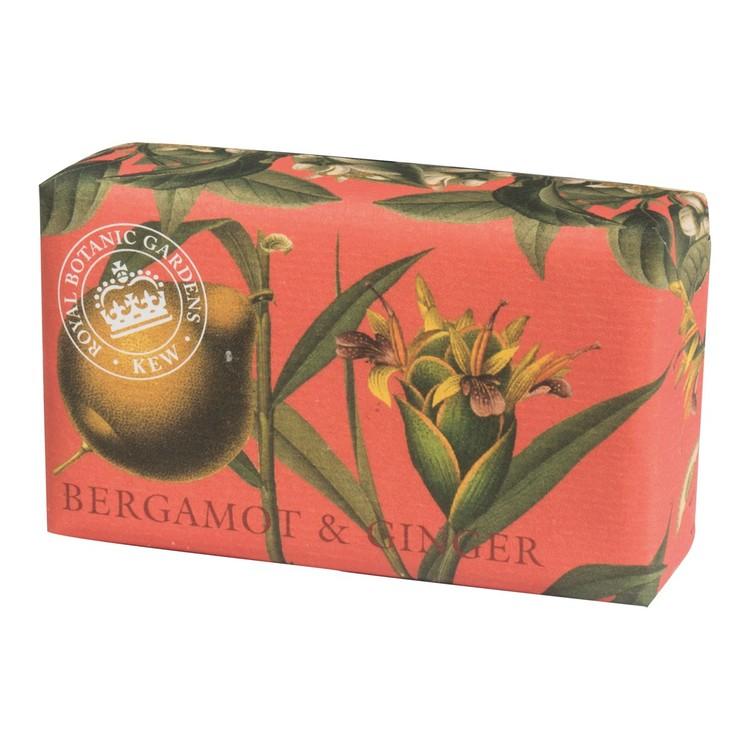 KEW Gardens Bergamot & Ginger tvål