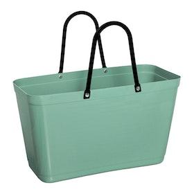 Hinzaväska stor Olivgrön, Green Plastic