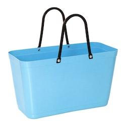 Hinzaväska stor ljusblå, Green Plastic