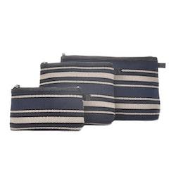 Ceannis necessär Blue Stripe