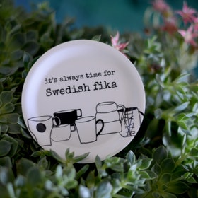 "Erika Tubbin minibricka ""Swedish fika"""