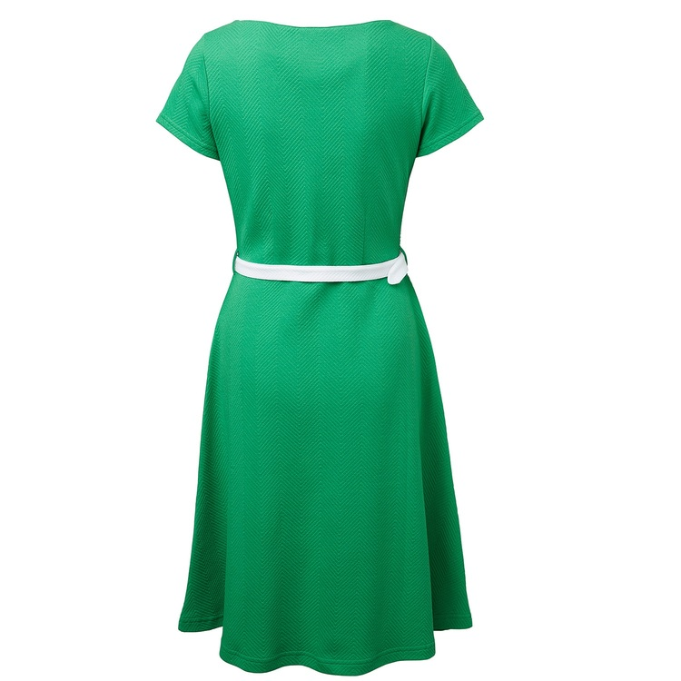 Jumperfabriken Paulina dress green