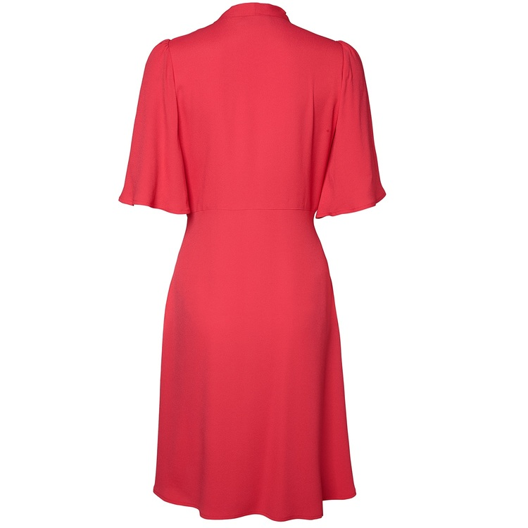 Jumperfabriken Rosmarie dress coral