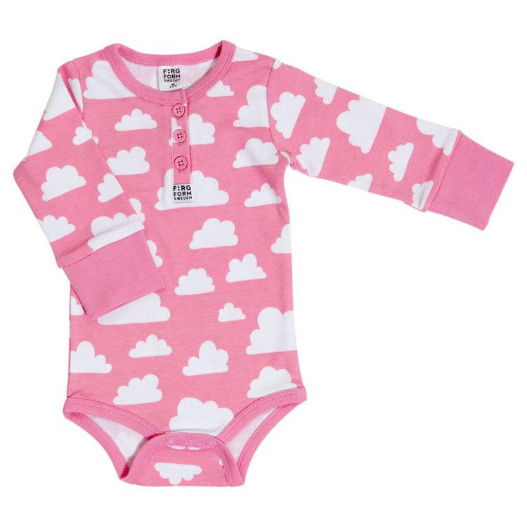 Färg&Form Moln body rosa