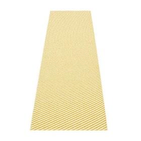 Pappelina matta Will mustard · vanilla 70x250 cm