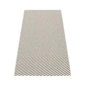 Pappelina matta Will charcoal · vanilla 70x150 cm