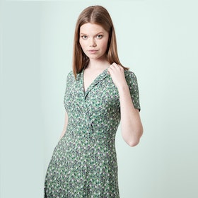 Jumperfabriken Wendy dress green