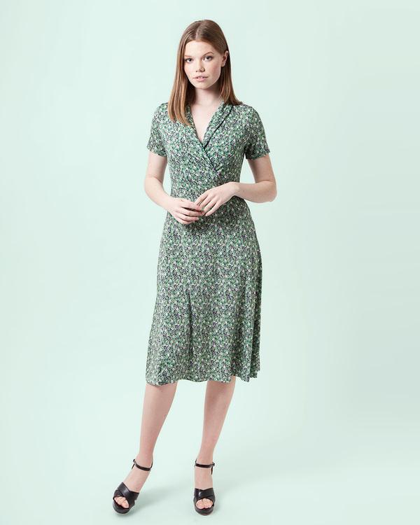 Jumperfabriken Wendy dress green
