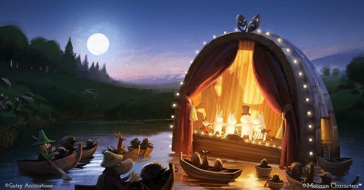 "Arabia Muminmugg Moominvalley ""Den gyllene svansen"""