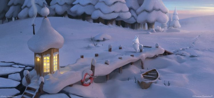 "Arabia Muminmugg Moominvalley ""Trollvinter"""