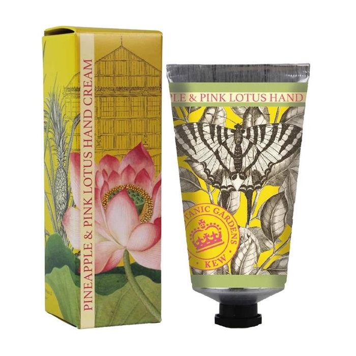 KEW Gardens Pineapple & Pink Lotus Hand Cream 75 ml