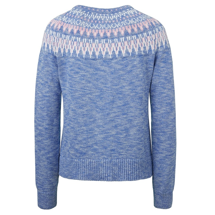 Jumperfabriken Joelle cotton cardigan blue