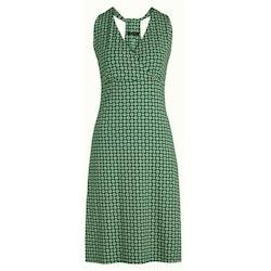 King Louie T Back Dress Empire azure green
