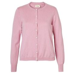 Jumperfabriken Cattis cardigan pearl pink