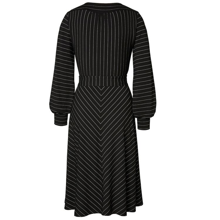 Jumperfabriken Lisbeth Lurex dress black