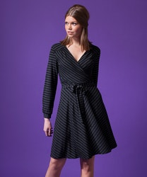 Jumperfabriken Lisbeth Lurex dress black