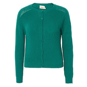 Jumperfabriken Cecile cardigan green
