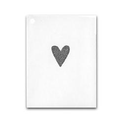 Nobhilldesigners litet kort Hjärta silver