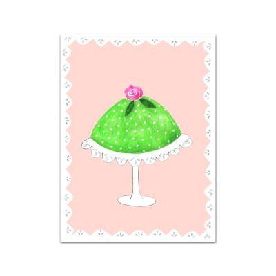 Nobhilldesigners litet kort Princesstårta