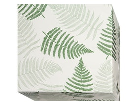 Presentpapper Ormbunke grön