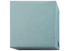 Presentpapper Ribbad blågrå