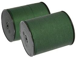 Presentband Mattline mörkgrön