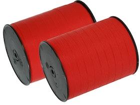 Presentband Mattline röd